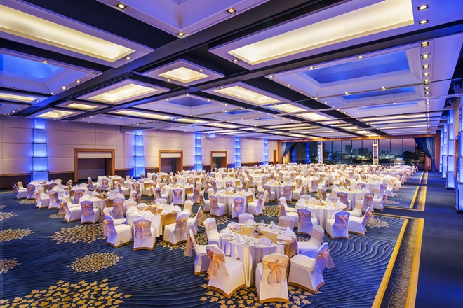 Royal Orchid Ballroom at Royal Orchid Sheraton Hotel Bangkok